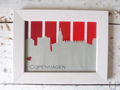 Skyline-aus-Farbkarten-Copenhagen