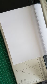 Papier-passend-schneiden-Notizblock-UP