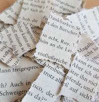 Papierschnipsel-UP